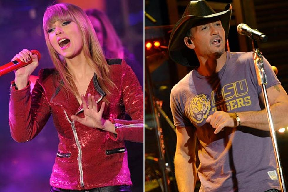 Taylor Swift Appears On Tim Mcgraw Track Highway Don T Care