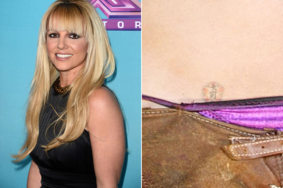 Britney Spears Bad Celebrity Tattoos