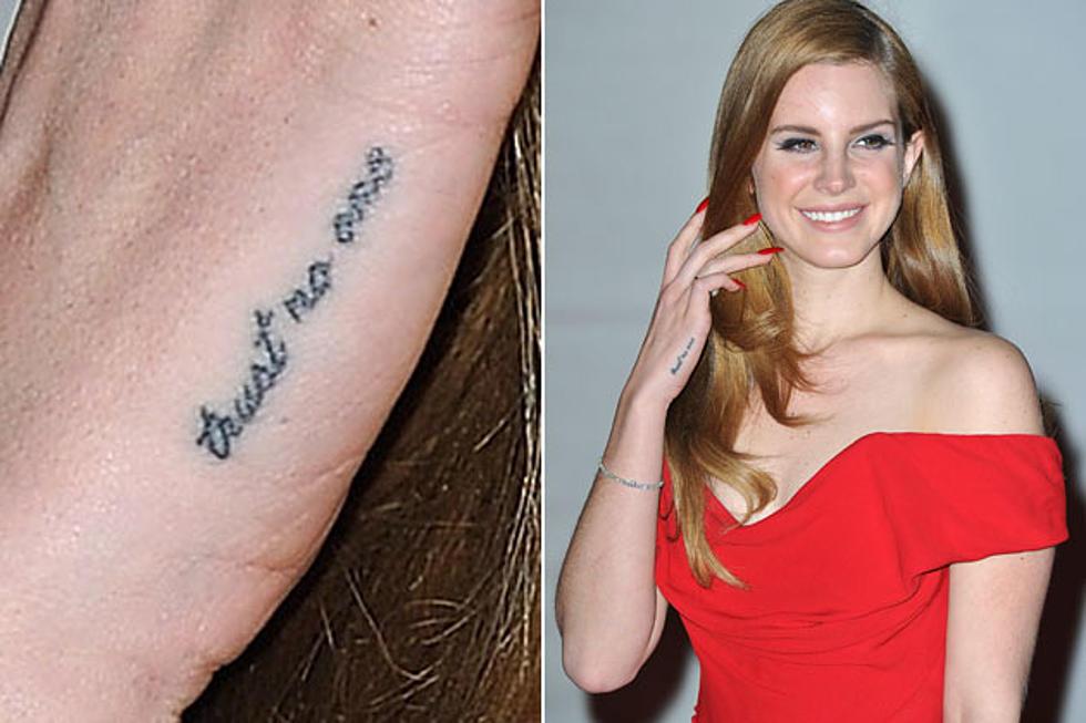 Its Lana Del Reys Tattoo