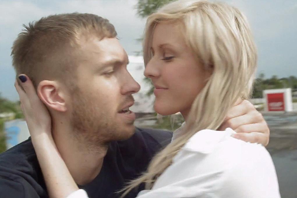 är Ellie Goulding dating Skrillex och Calvin Harris