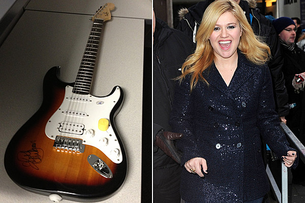 Win a Guitar Signed by Kelly Clarkson!