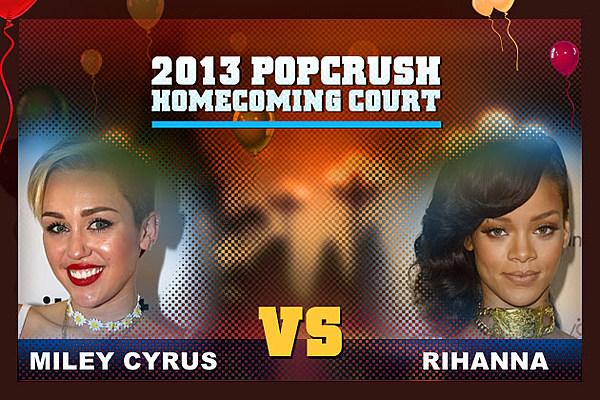 Miley Cyrus vs. Rihanna