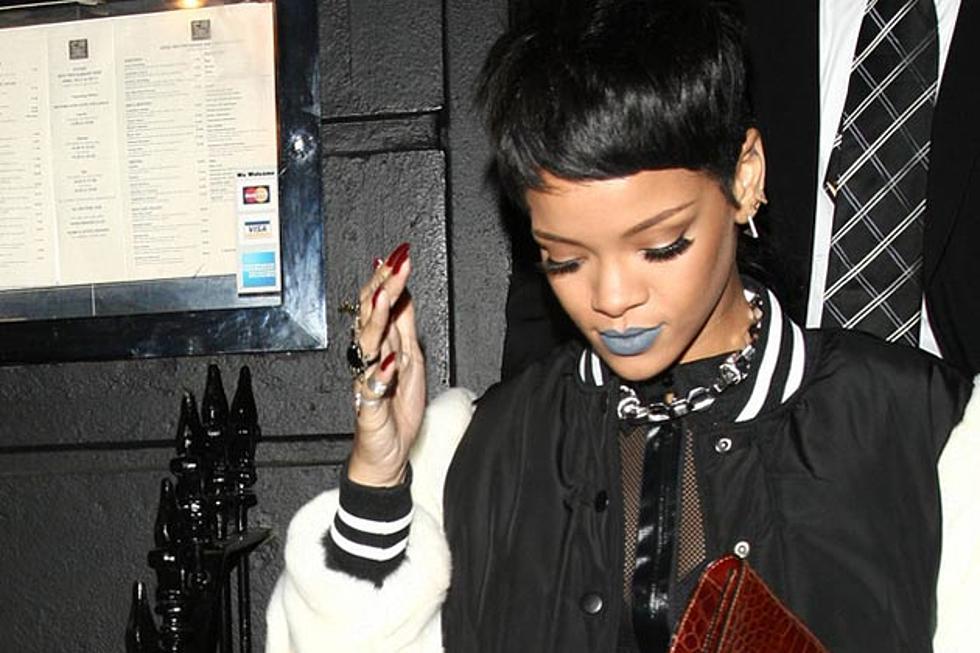 Rihanna Gets Another Hand Tattoo Photo