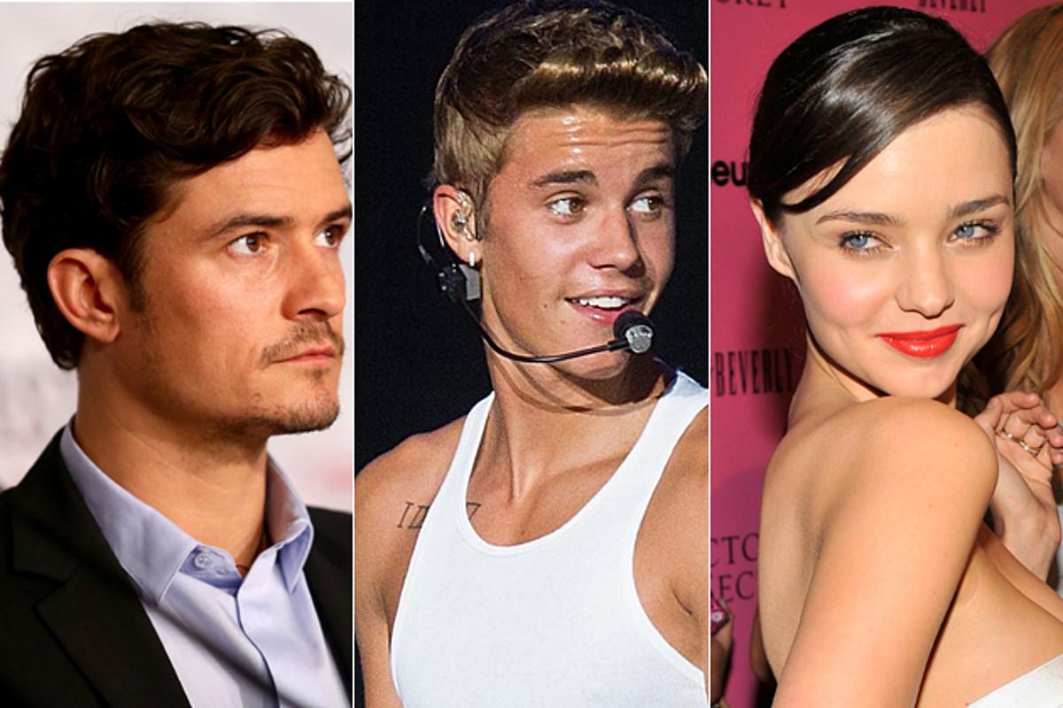 Did Justin Bieber Come Between Orlando Bloom + Miranda Kerr?!