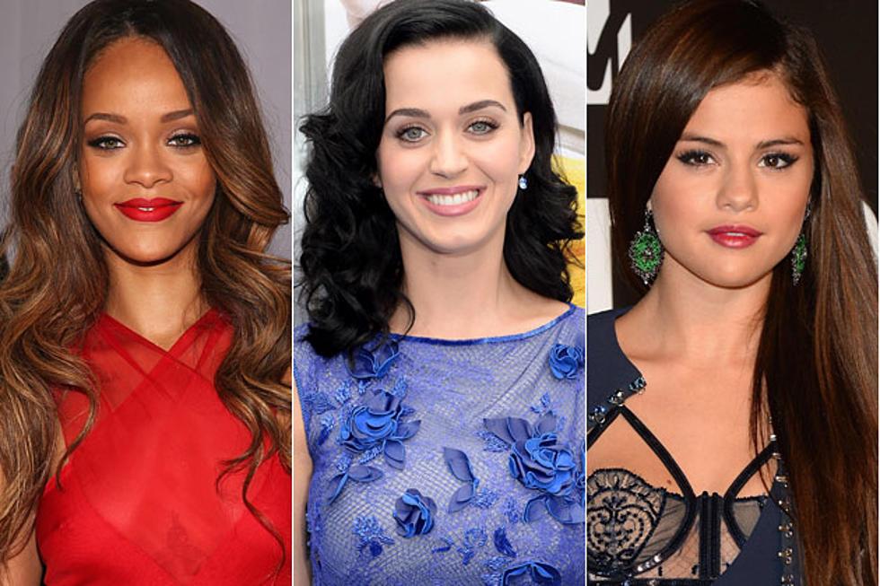 Stupendous Rihanna Vs Selena Gomez Vs Katy Perry Whose Birthday Song Is Birthday Cards Printable Inklcafe Filternl