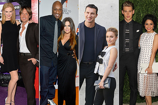 Celebrity Couples With...