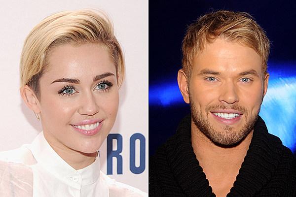 Miley Cyrus and Kellan Lutz Fuel Dating Rumors in Vegas