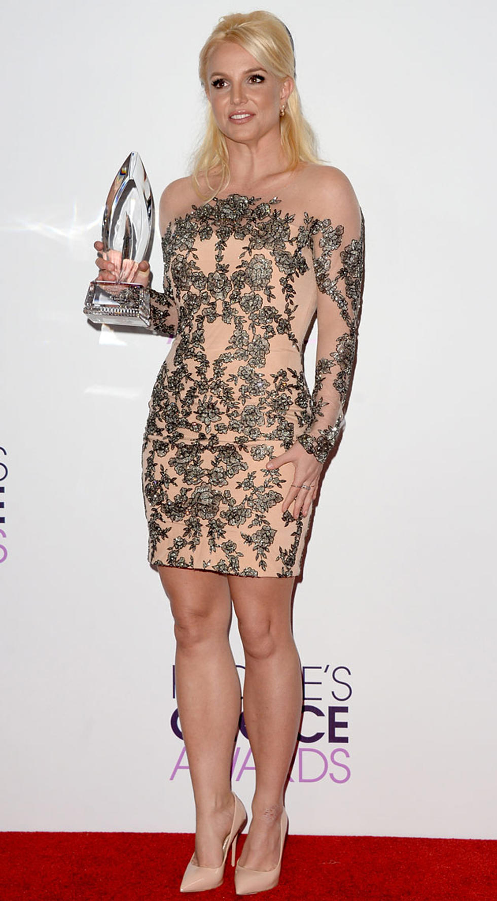 See Britney Spears' Dress at 2014 People's Choice Awards