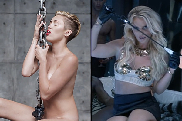 Britney spears and miley cyrus naked porn
