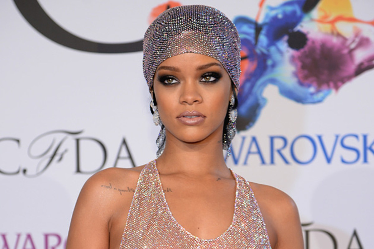 Rihanna Bares It All in Sexy Sheer Gown [NSFW PHOTOS]