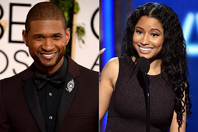 Usher och Nicki Minaj dating