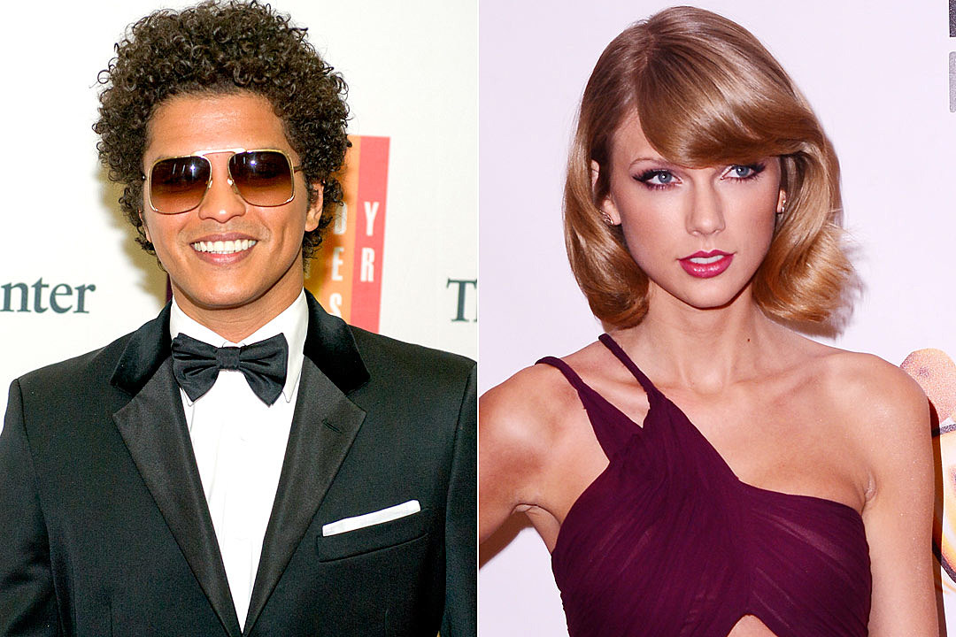 Bruno Mars Uptown Funk Replaces Taylor Swift S Blank Space At Number One On Billboard