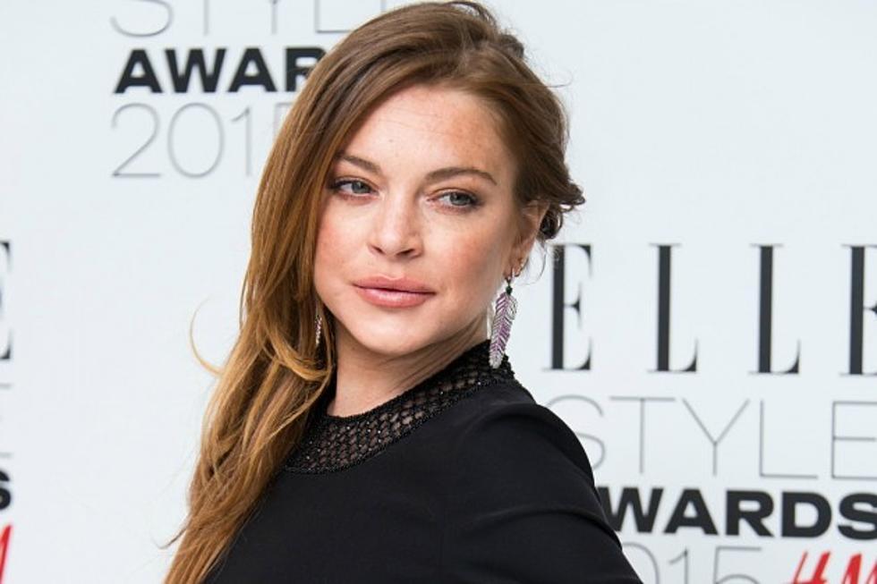 Lindsay Lohan Booty