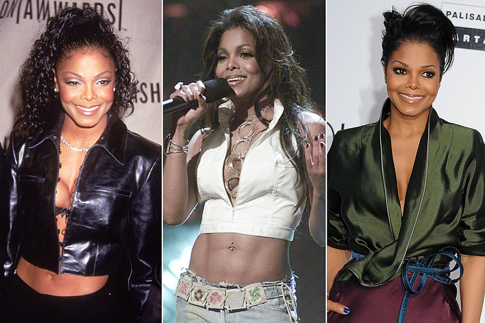 Janet Jackson's Style Evolution Through The Years