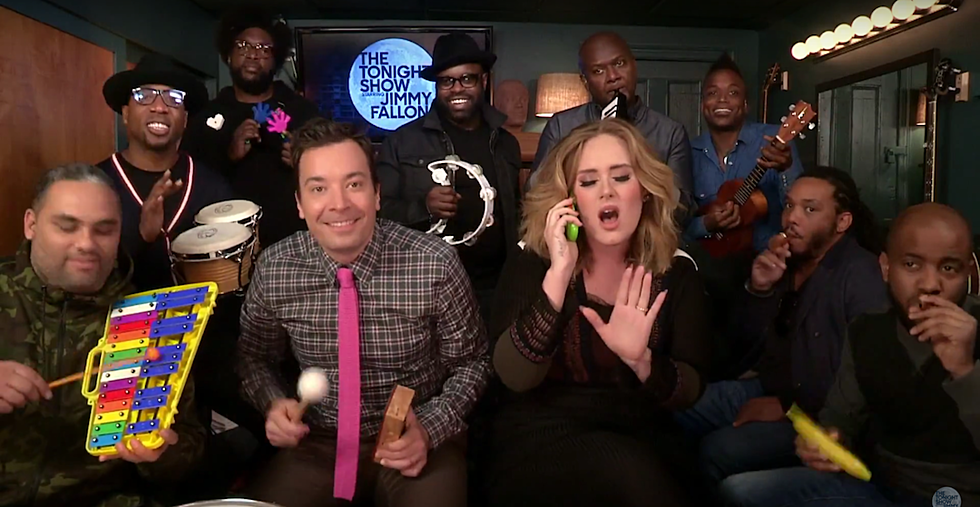 Adele Interview on NPR, Performs 'Hello' With Fallon + The Roots