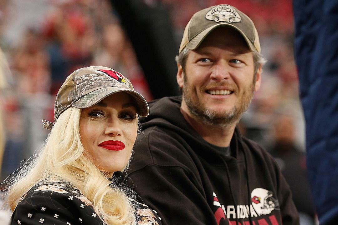 Gwen Stefani + Blake Shelton Enjoy Some Celeb-On-Celeb