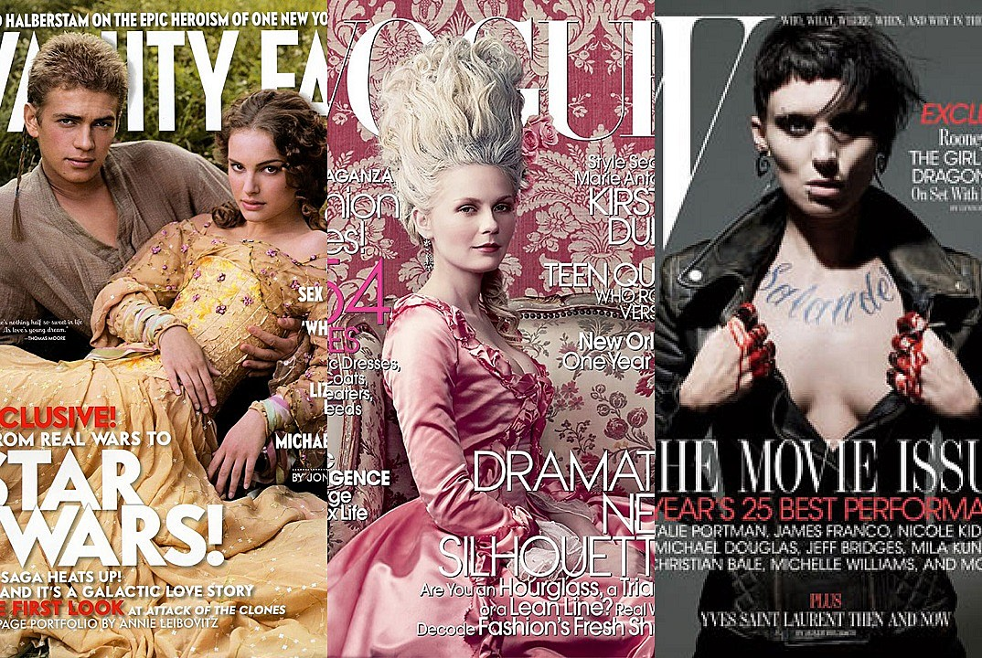 11 Magazine Covers Featuring Actors As Their Characters