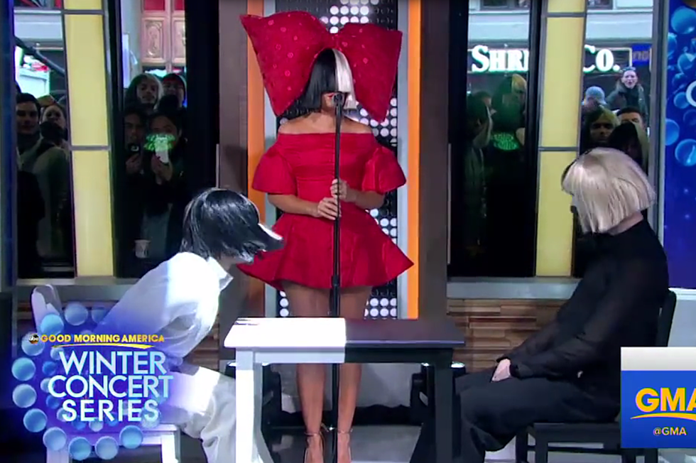 Sia Performs 'Reaper' on 'Good Morning America'