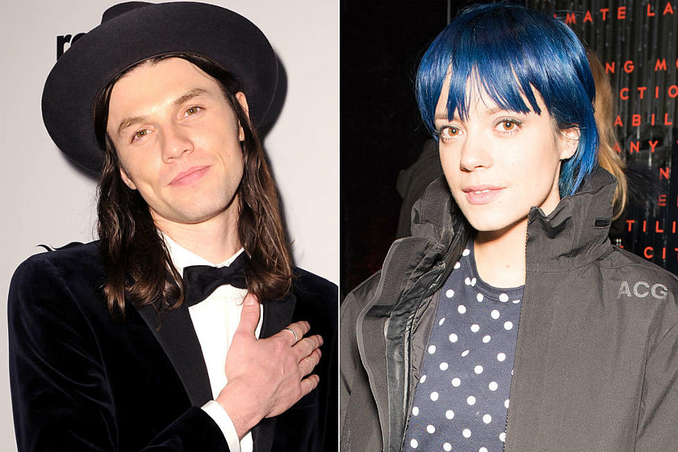 b7be30d2808 Lily Allen + James Bay Trade Barbs Over BRIT Awards Controversy