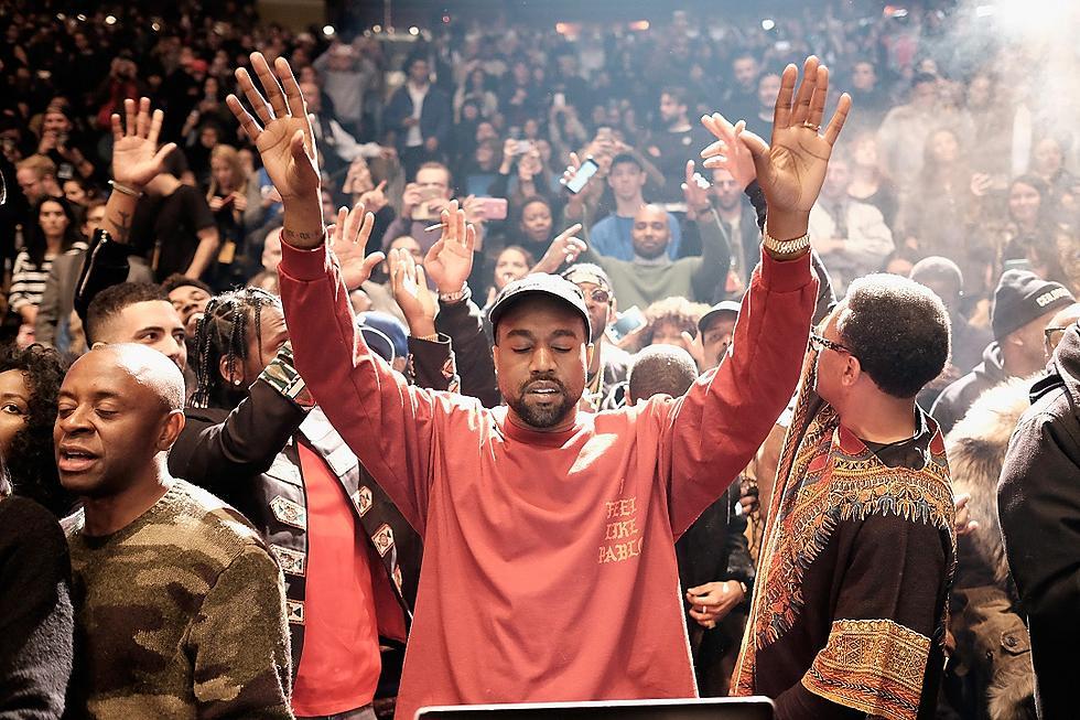 Kanye West Breaks Up Brawl Between Paparazzi with Hug