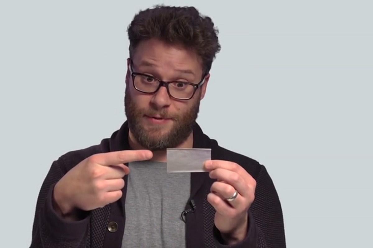 Seth Rogen Rolls A Joint In Youtube Tutorial