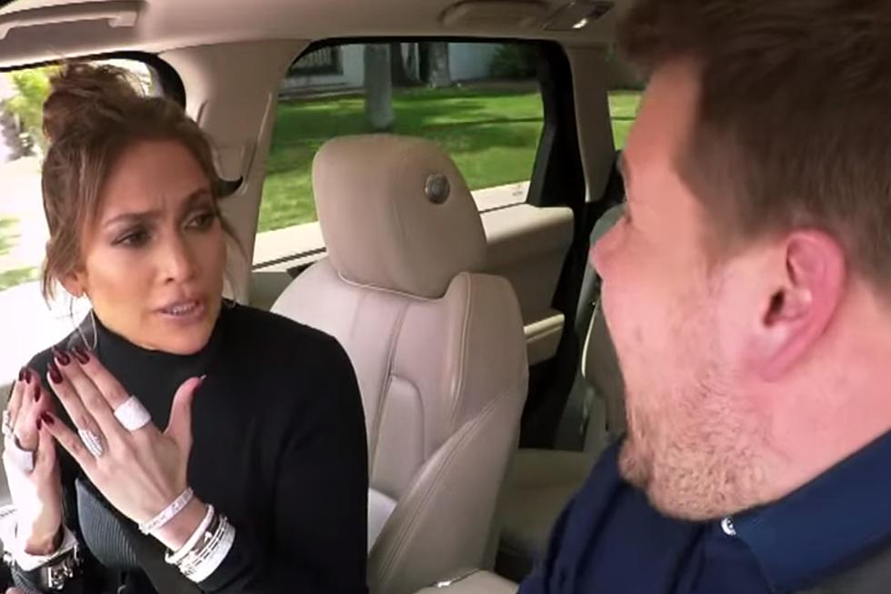 Jennifer Lopez Prank Texts Leonardo DiCaprio in Carpool Karaoke