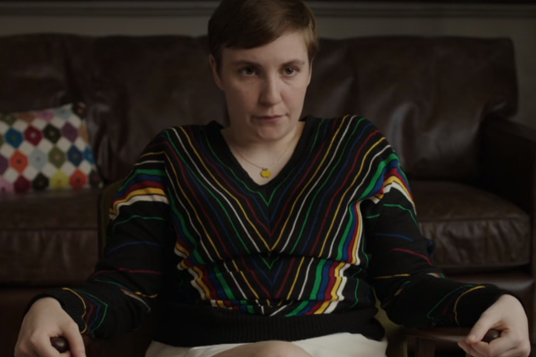 Lena Taylor Thrills Capitol >> Lena Dunham Has Only One Regret About Vagina Flash In Latest Girls