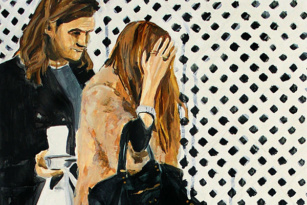 This Artist Explores Celeb Privacy with Paintings of Olsen Twins Pap Shots