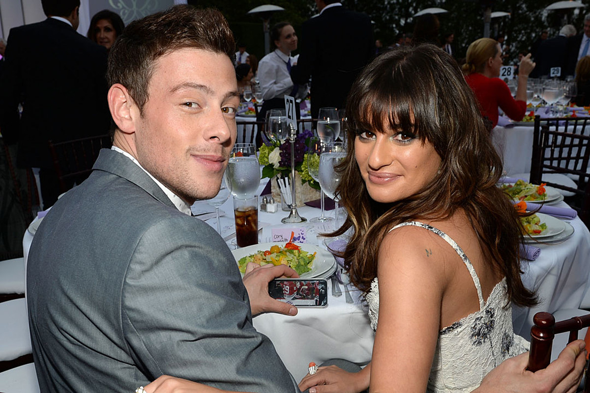 Lea Michele Honors Late Cory Monteith With Commemorative ...