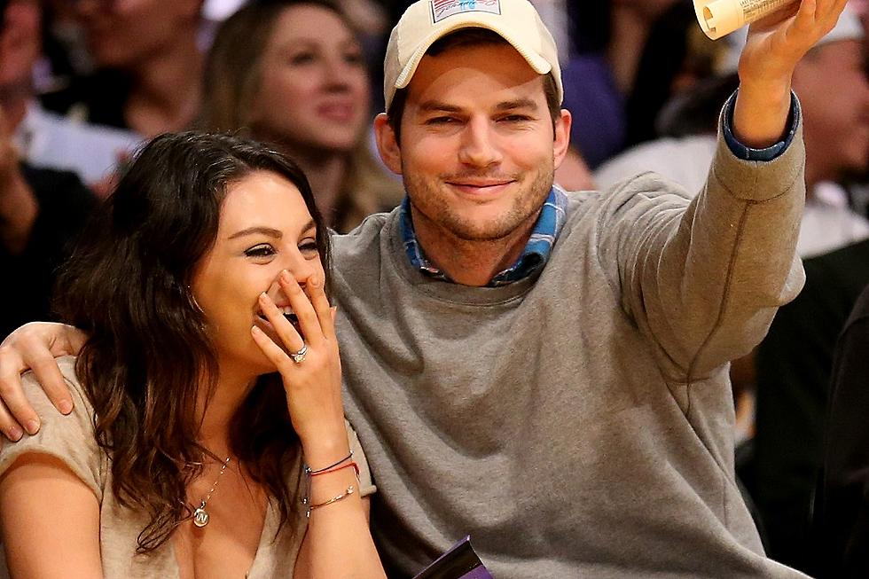 Mila Kunis Claims Ashton Kutcher Has A Beer Can Down There