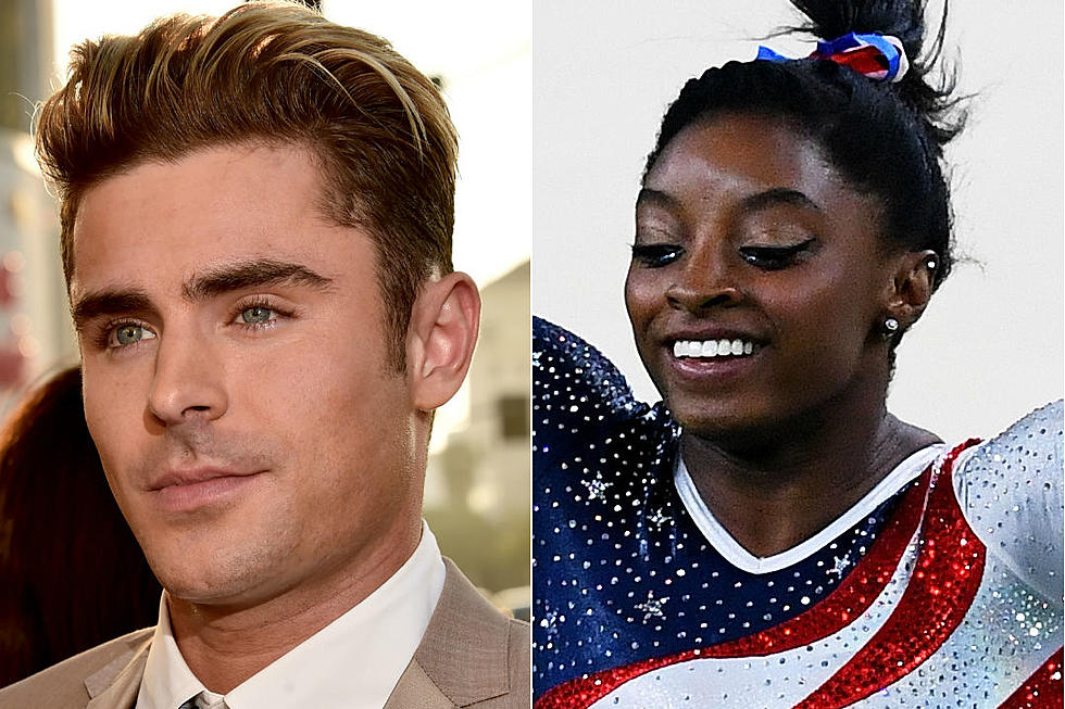 415ddb2e97583 Simone Biles Earns Gold, and Zac Efron's Twitter-Love