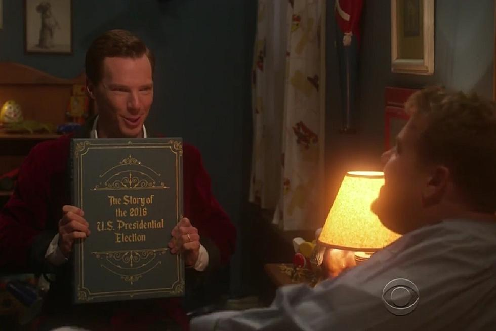 Benedict Cumberbatch Reads James Corden a Bedtime Story About
