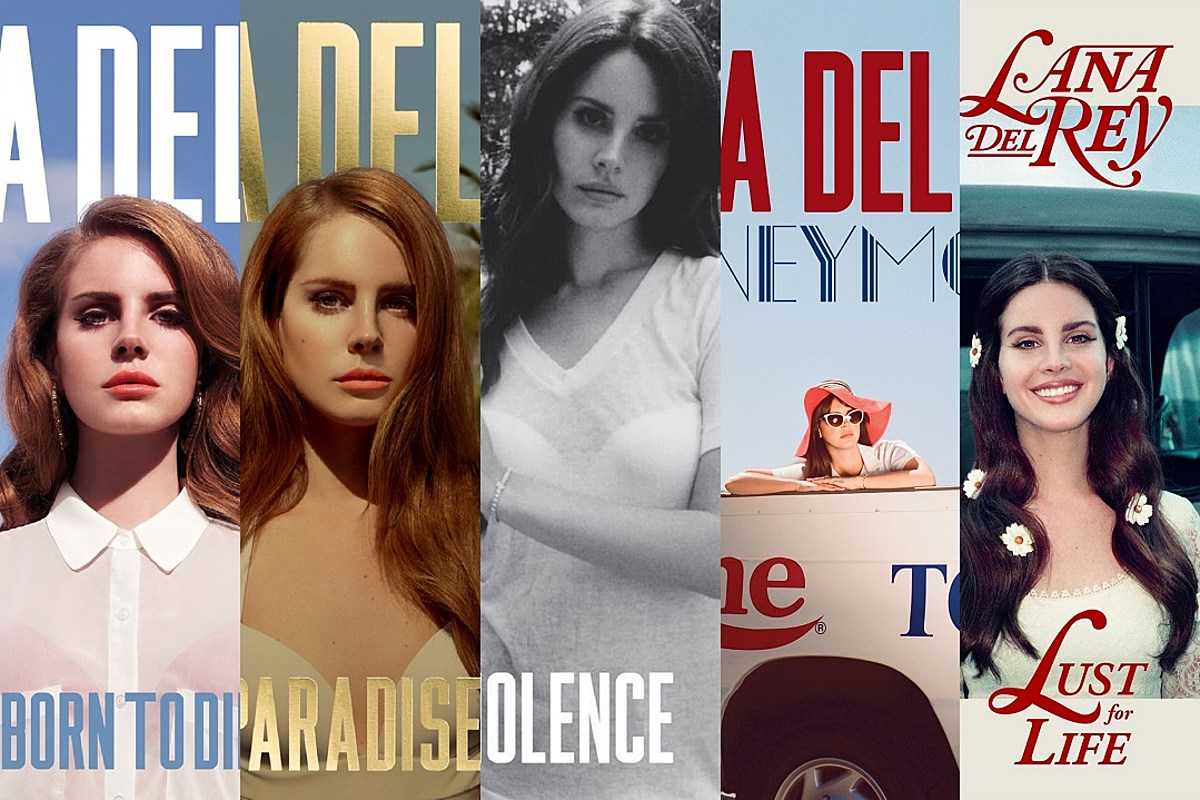 Lana Del Rey S Complete Album Art An Evolution
