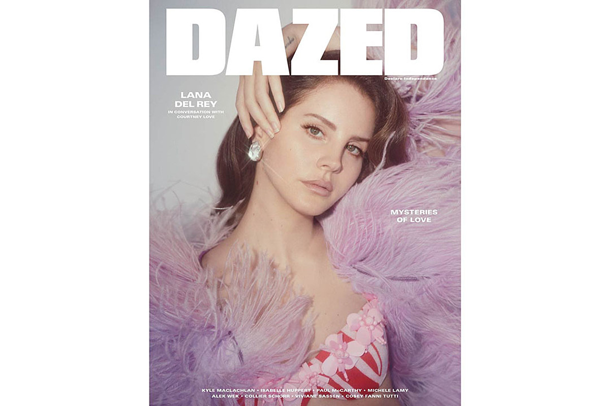 Lana Del Rey Gets Dazed Cover And One Could Never Be Enough