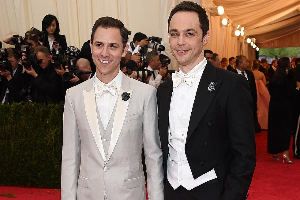Jim Parsons Wed Todd Spiewak Over The Weekend