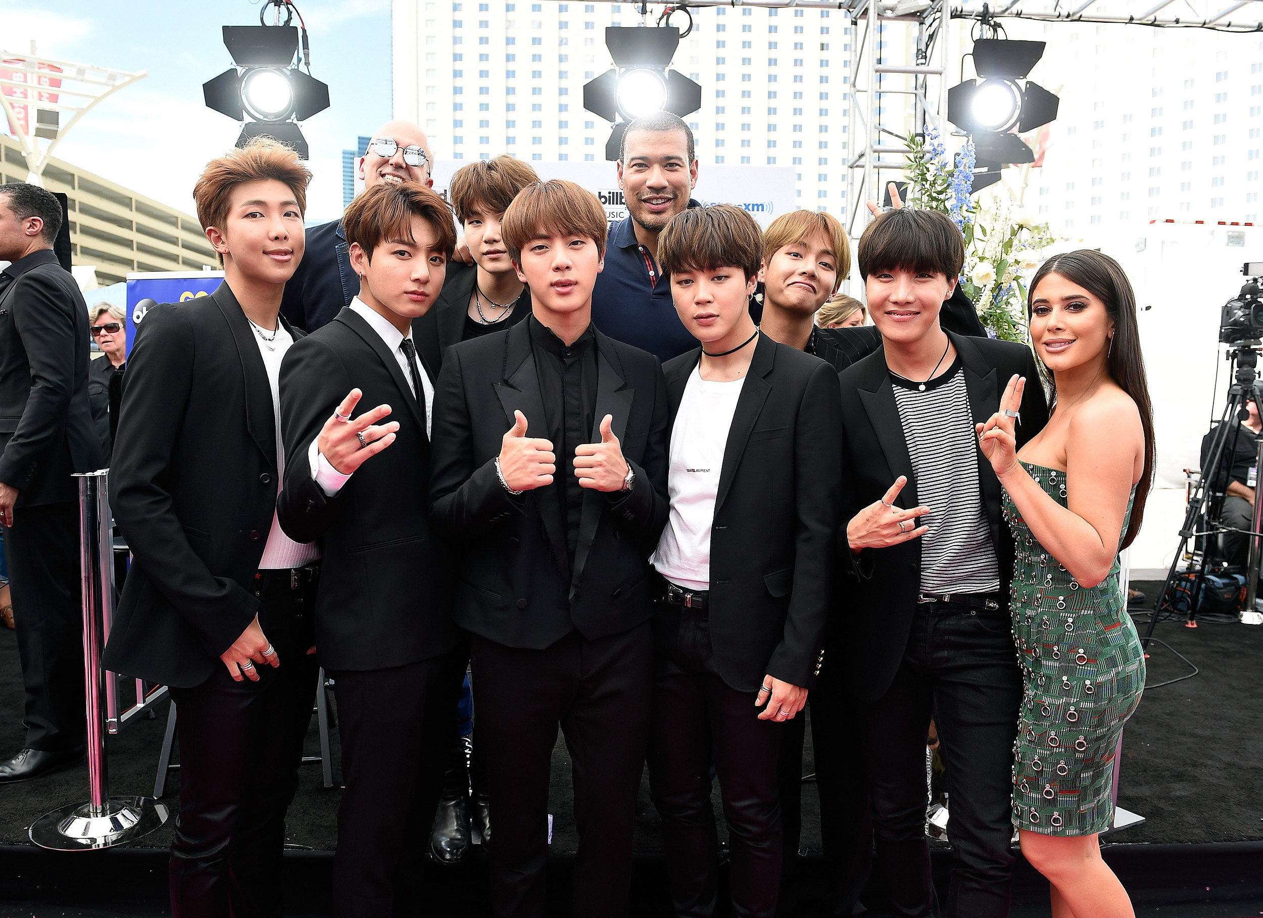 BTS Member Jin Goes Viral During 2017 BBMAs for Being Really Hot (Again)