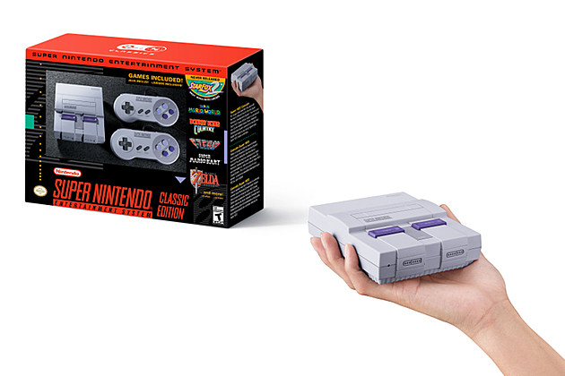 The SNES Classic Edition Takes You Back to High School This September