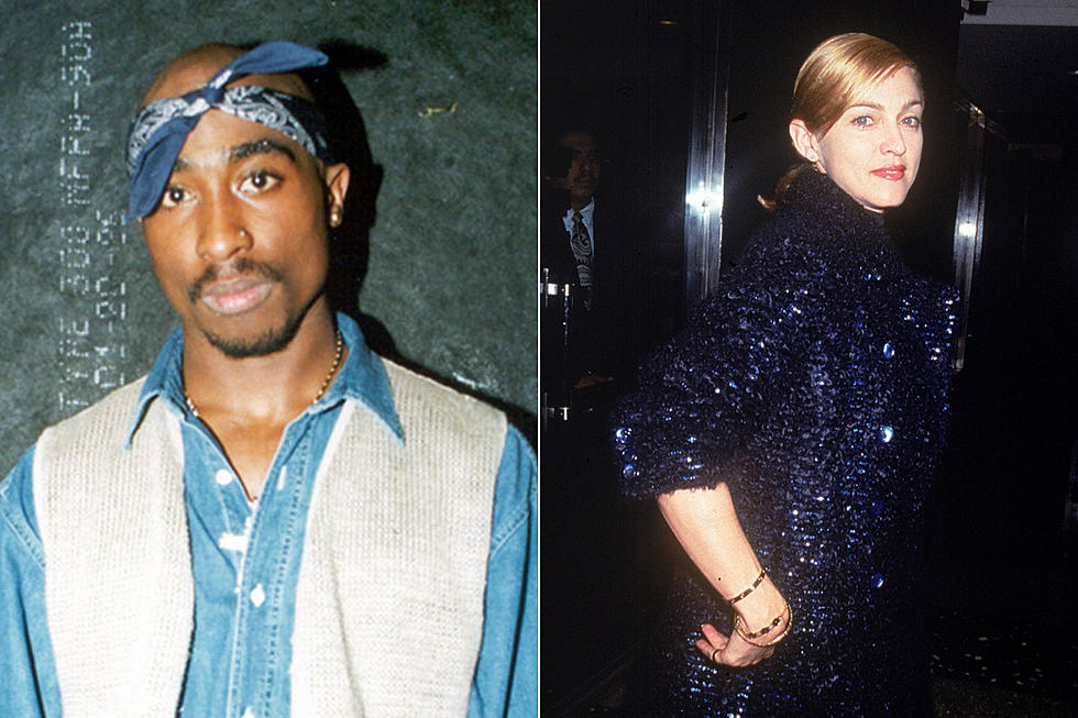 Tupac Dumped Madonna Because She Was White, According to