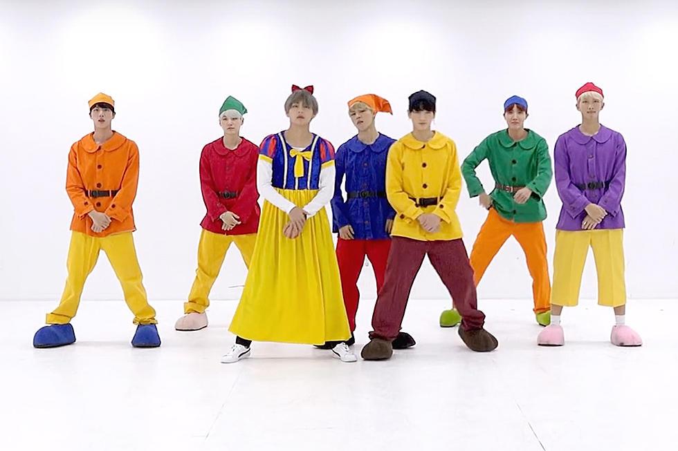 BTS Celebrates Halloween With Special Dance Practice Video