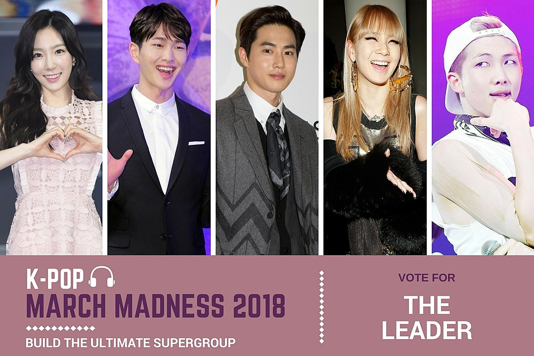 K-Pop March Madness 2018: Vote for 'The Leader' in Our Ultimate