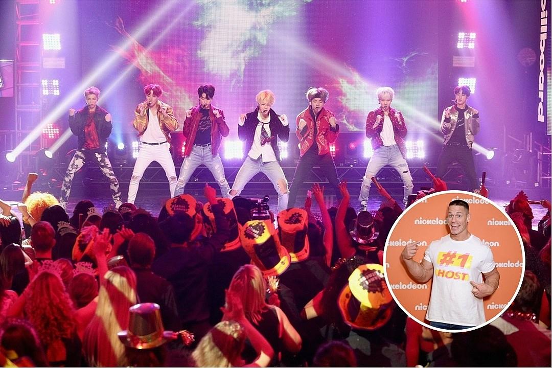 Secret K-Pop Listener John Cena Outs Himself as BTS Fan
