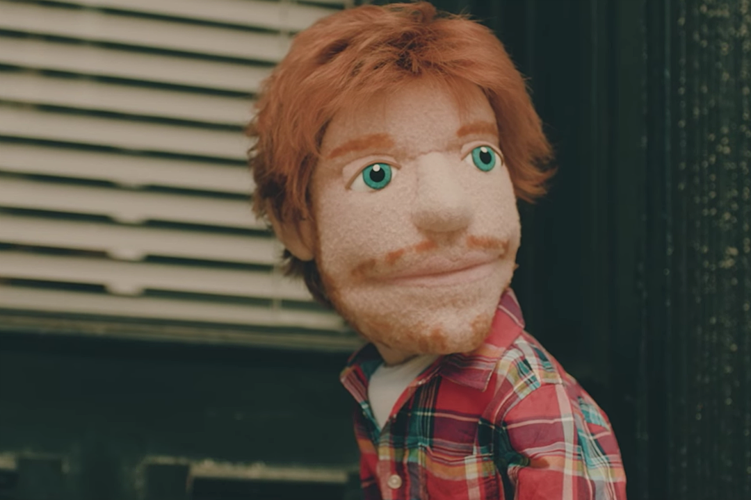 Ed Sheeran's a Sad, Drunk Puppet in 'Happier' Video