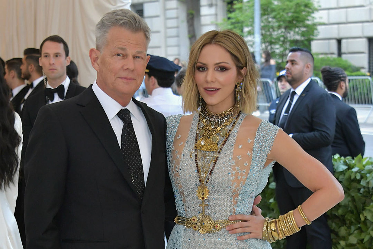 Katharine Mcphee Confirms Relationship With David Foster At 2018 Met Gala