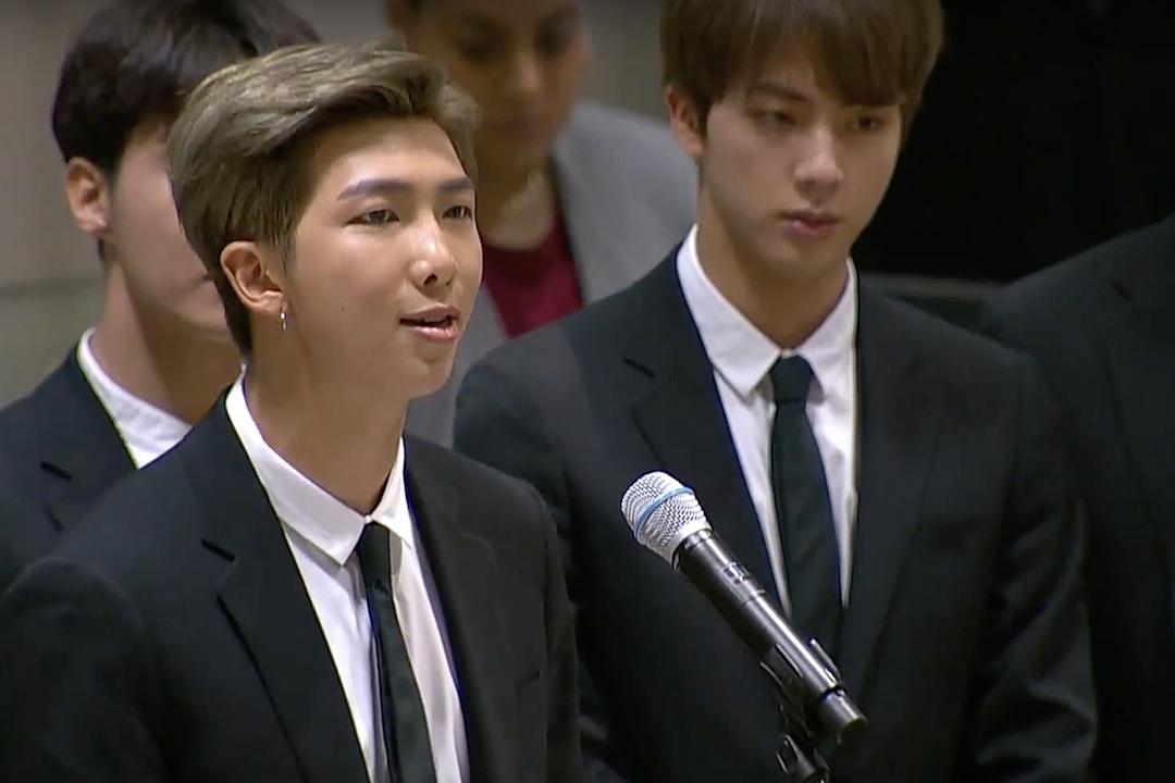Read BTS' United Nations Generation Unlimited Speech