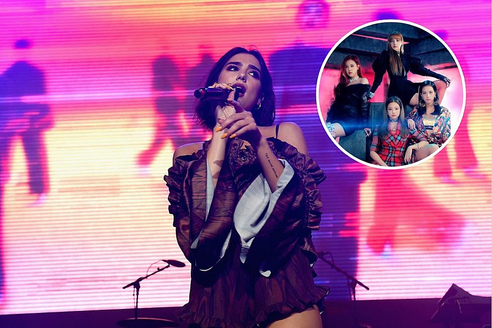 Dua Lipa and K-Pop Group Blackpink Team Up for 'Kiss and