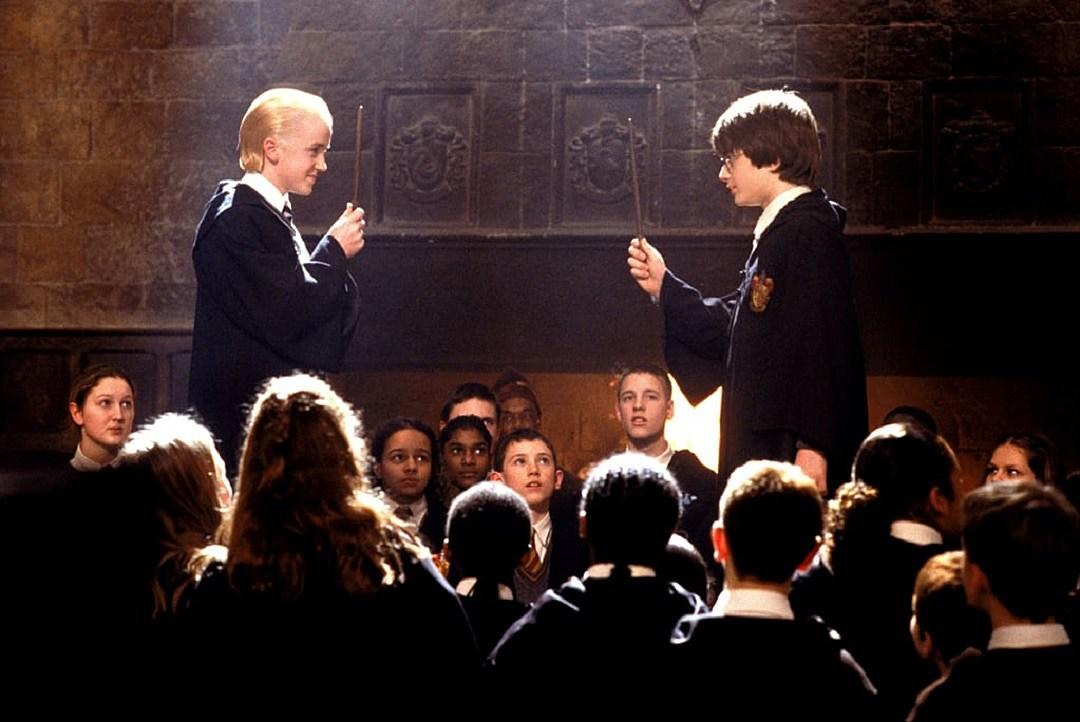Harry Potter's Tom Felton, Daniel Radcliffe Reunite in NYC