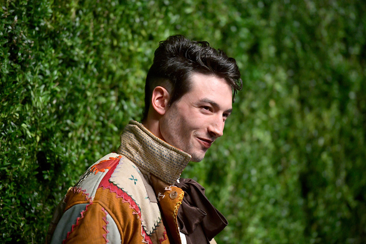 Ezra Miller 'Probably' Would Have Committed Suicide Without Art