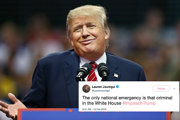 Lauren Jauregui + More Celebs React to Donald Trump's National Emergency