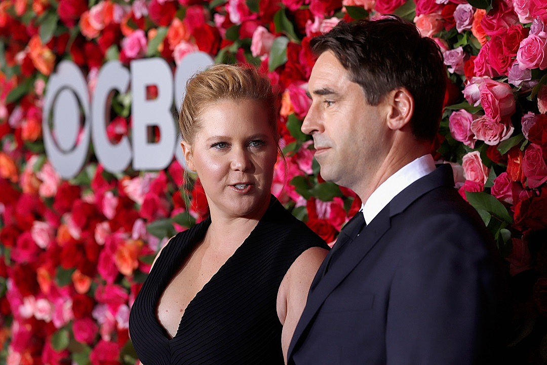 Amy Schumer Says Husband Chris Fischer's Autism Diagnosis Has Had a 'Positive' Impact
