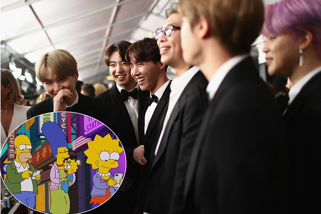 'The Simpsons' Gave BTS a Sneaky Shout-Out in Their Latest Episode